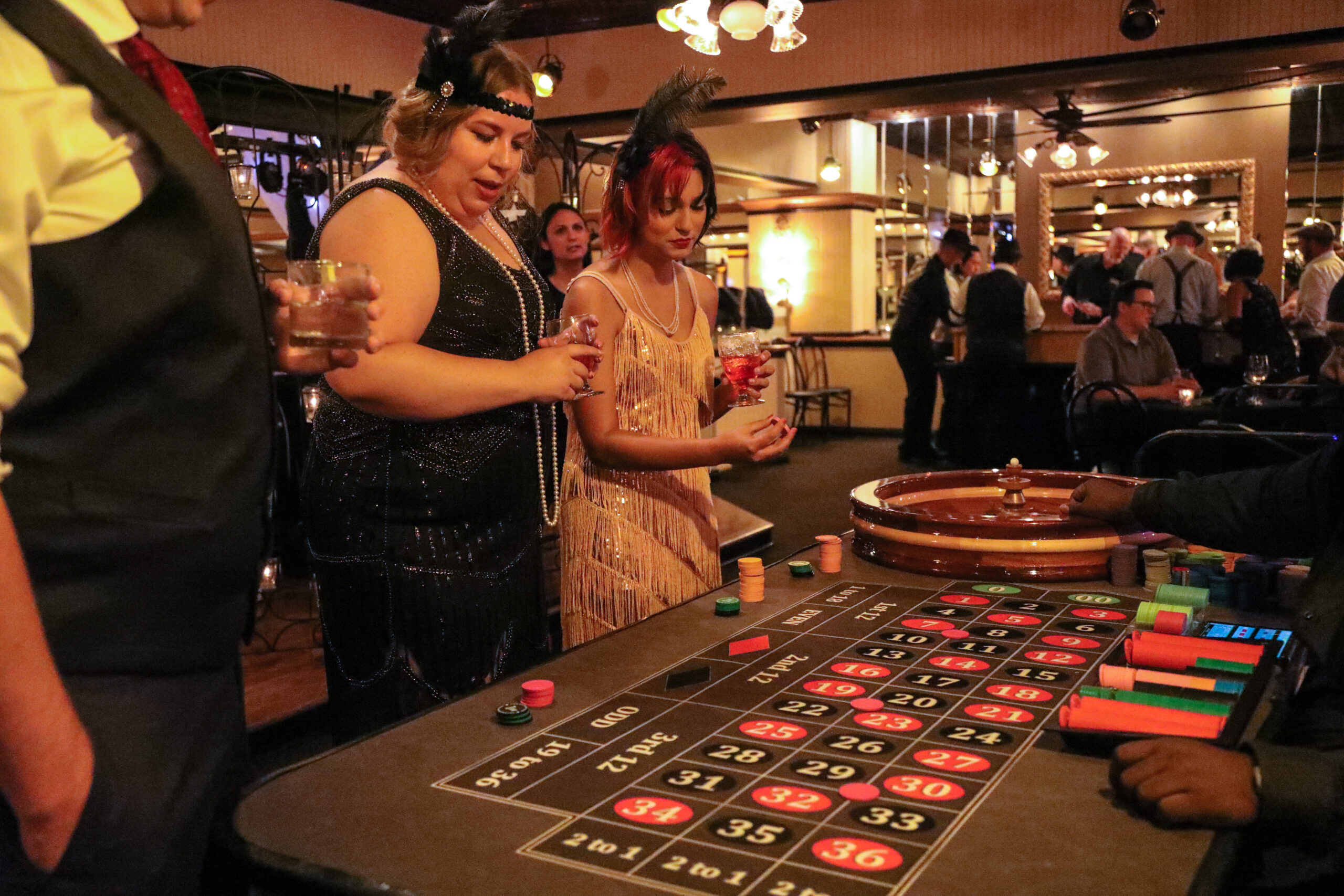 Roulette Gatsby Party